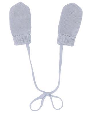Moufles tricot en laine vierge IL TRENINO