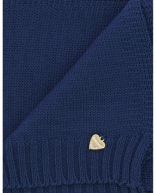 Virgin wool knit scarf IL TRENINO