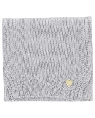 Écharpe tricot en laine vierge IL TRENINO