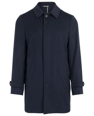 Manteau classique en laine BORRELLI