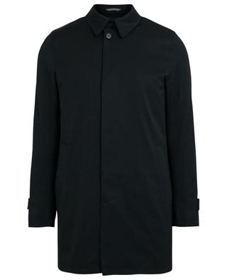 Twill rain coat with removable padding BORRELLI