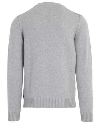 Merino wool and cashmere check jumper BORRELLI
