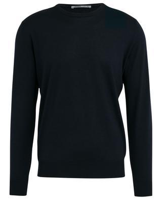 Ultra-fine wool, silk and cashmere jumper BORRELLI