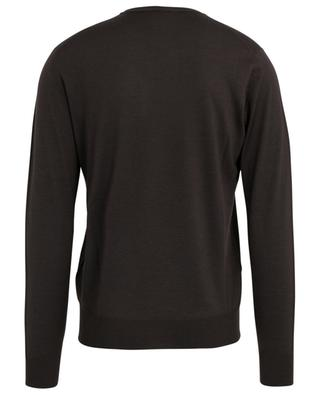 Ultra-fine wool, silk and cashmere jumper LUIGI BORRELLI
