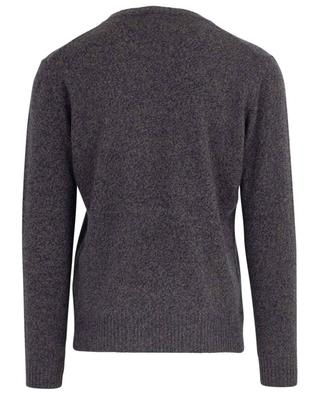 Merino wool and cashmere round neck jumper LUIGI BORRELLI