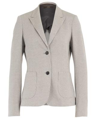 Houndstooth check jersey blazer WINDSOR