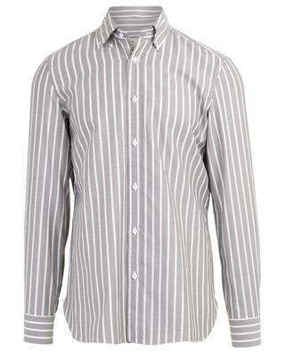 Striped cotton shirt LUIGI BORRELLI