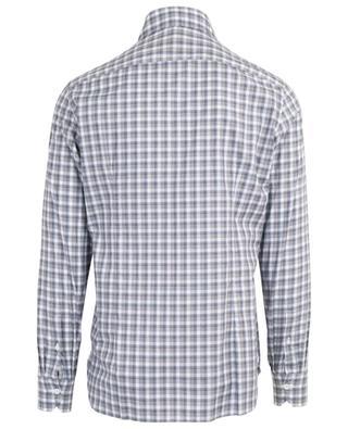 Check cotton shirt BORRELLI