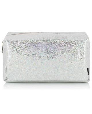 Glitter Large sparkling toiletry bag KLEVERING