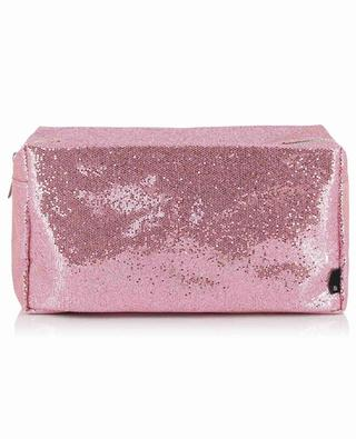 Glitter Large sparkling toiletry bag KLEVERING