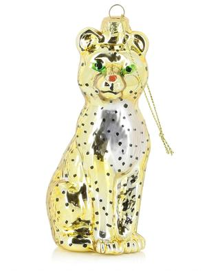 Panther glass Christmas ornament KLEVERING