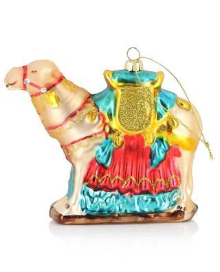Ornement de Noël en verre Camel KLEVERING