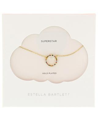Goldene Halskette Multi Circle ESTELLA BARTLETT