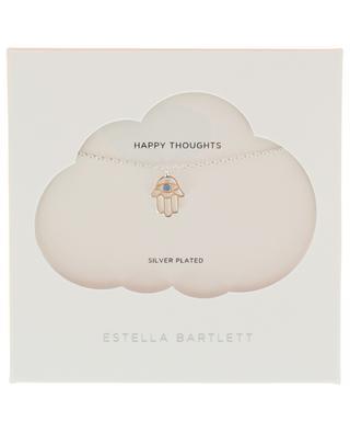 Silberne Halskette mit Hand Hamsa ESTELLA BARTLETT