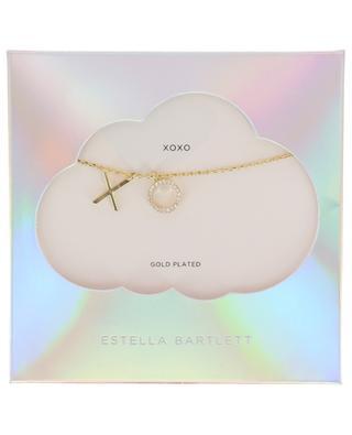 Goldene Halskette mit Anhängern XO ESTELLA BARTLETT