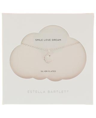 Moon & Star silver necklace ESTELLA BARTLETT