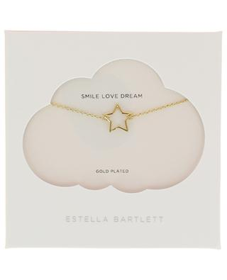 Collier doré Open Star ESTELLA BARTLETT