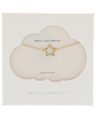 Goldene Halskette Open Star ESTELLA BARTLETT