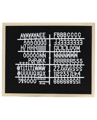 Tableau personnalisable Proverbe Letter Board BAZARDELUXE