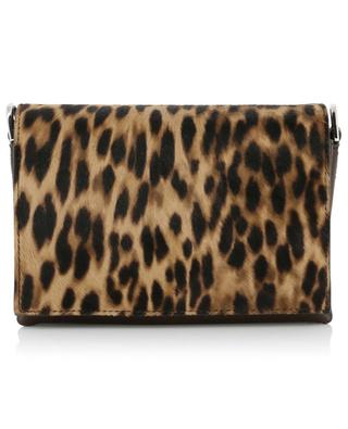 Animal print calf hair leather micro shoulder back TOD'S