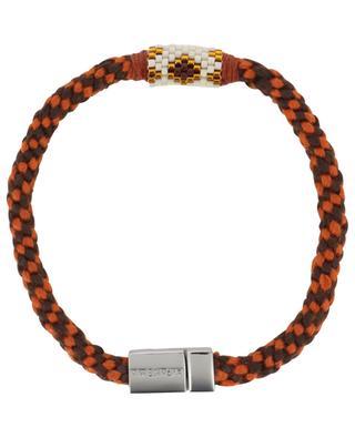 Beads adorned braided bracelet HIPANEMA