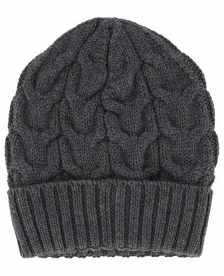 Cable knit virgin wool beanie MONCLER