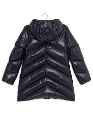 Faucille cinched glossy nylon down jacket MONCLER
