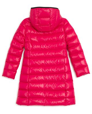 Moka long quilted down jacket MONCLER