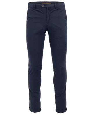 Pantalon en coton motif pied-de-poule B SETTECENTO