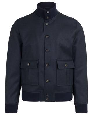Print virgin wool lightweight jacket VALSTAR MILANO 1911