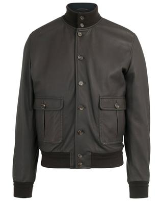 Jacke aus strukturiertem Leder VALSTAR MILANO 1911