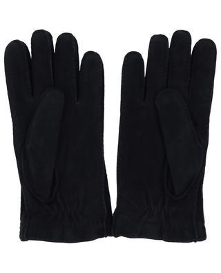 Cashmere lined suede gloves PIERO RESTELLI