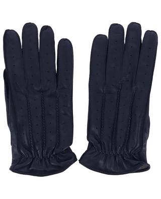 Nappa leather gloves with cashmere lining PIERO RESTELLI