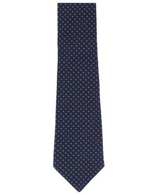 Dot adorned silk tie BORRELLI