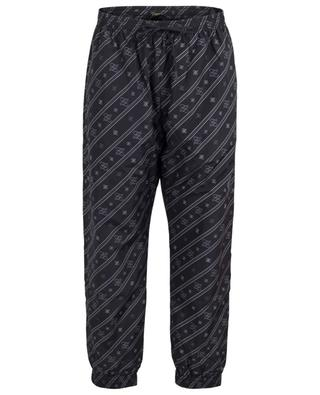 Print nylon jogging trousers FENDI