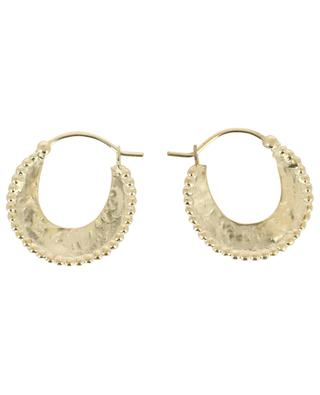 Moon golden hoop earrings ALIX D.REYNIS