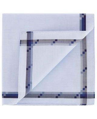 Einstecktuch mit dreifarbigem Rahmen Mondrian SIMONNOT GODARD