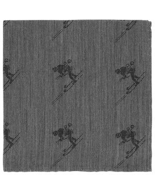Pochette jacquard motif skieur SKI SIMONNOT GODARD