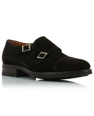 Suede monk strap shoes SANTONI
