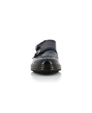 Chaussures à double bride en cuir SANTONI