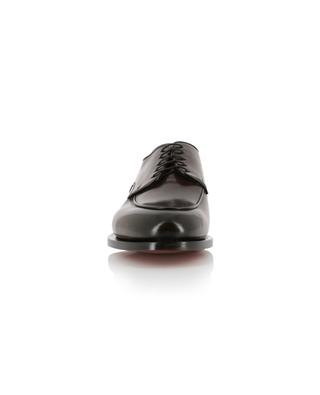 Chaussures à lacets en cuir brillant SANTONI