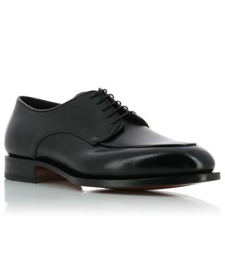 Shiny leather lace-up shoes SANTONI