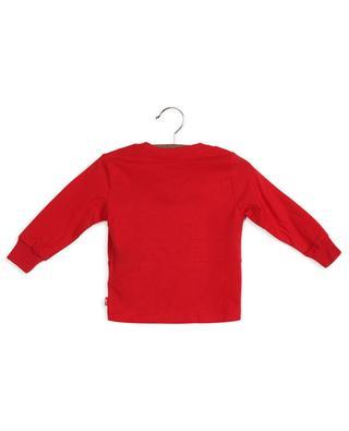 T-shirt à manches longues en coton imprimé logo LEVI'S KIDS