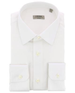 Klassisches Hemd aus Baumwoll-Twill Dynamic Z ZEGNA