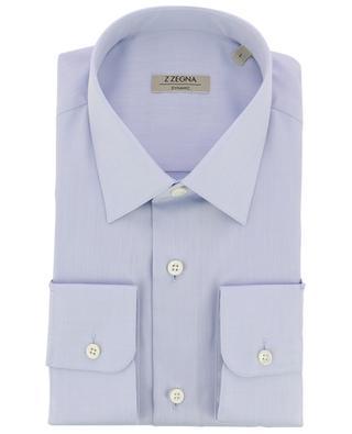 Dynamic classic mottled cotton shirt Z ZEGNA