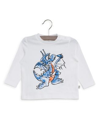 T-shirt à manches longues imprimé Dragon STELLA MCCARTNEY KIDS