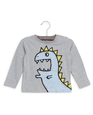 Nachhaltiges Langarm-T-Shirt Dragon STELLA MCCARTNEY KIDS