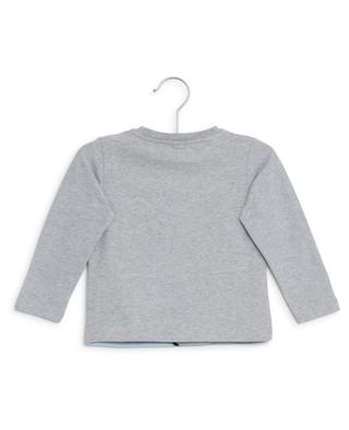 Nachhaltiges Langarm-T-Shirt Dragon STELLA MCCARTNEY KIDS