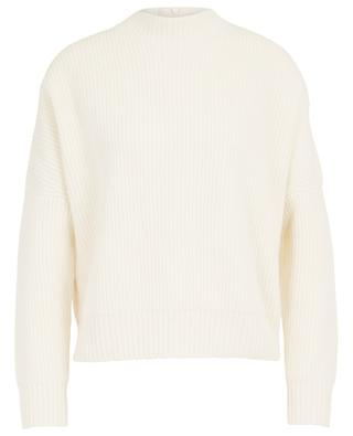 Wool and cashmere jumper with stand-up collar AKRIS PUNTO