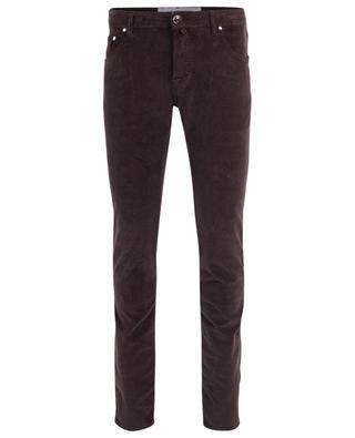 J622 corduroy straight trousers JACOB COHEN